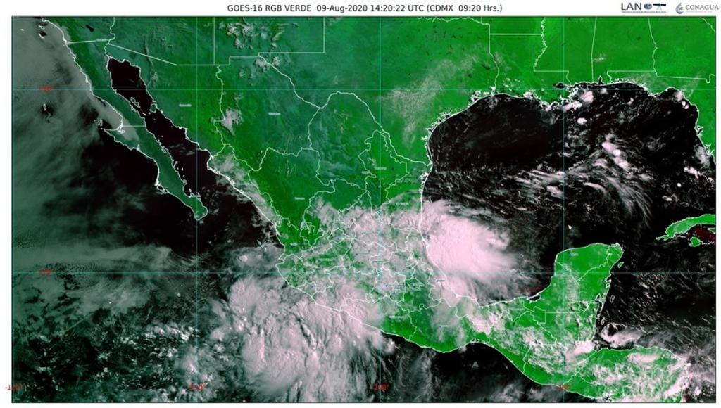 Tormenta tropical 'Elida' provoca lluvias en Colima, Michoacán y Guerrero