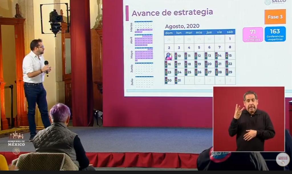 México supera los 480 mil contagios por COVID-19