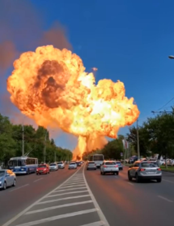 Gasolinera explota en Rusia y al menos 12 personas resultaron heridas