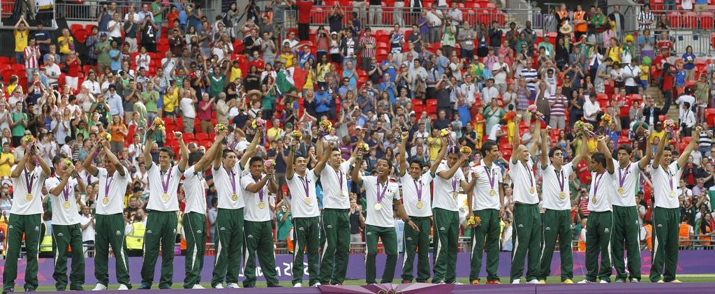 Se cumplen 8 años del oro olímpico de México en Londres