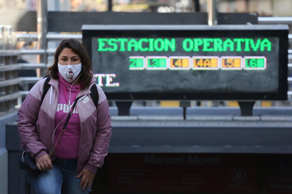 Mantiene Chile la disminución de contagios de COVID-19