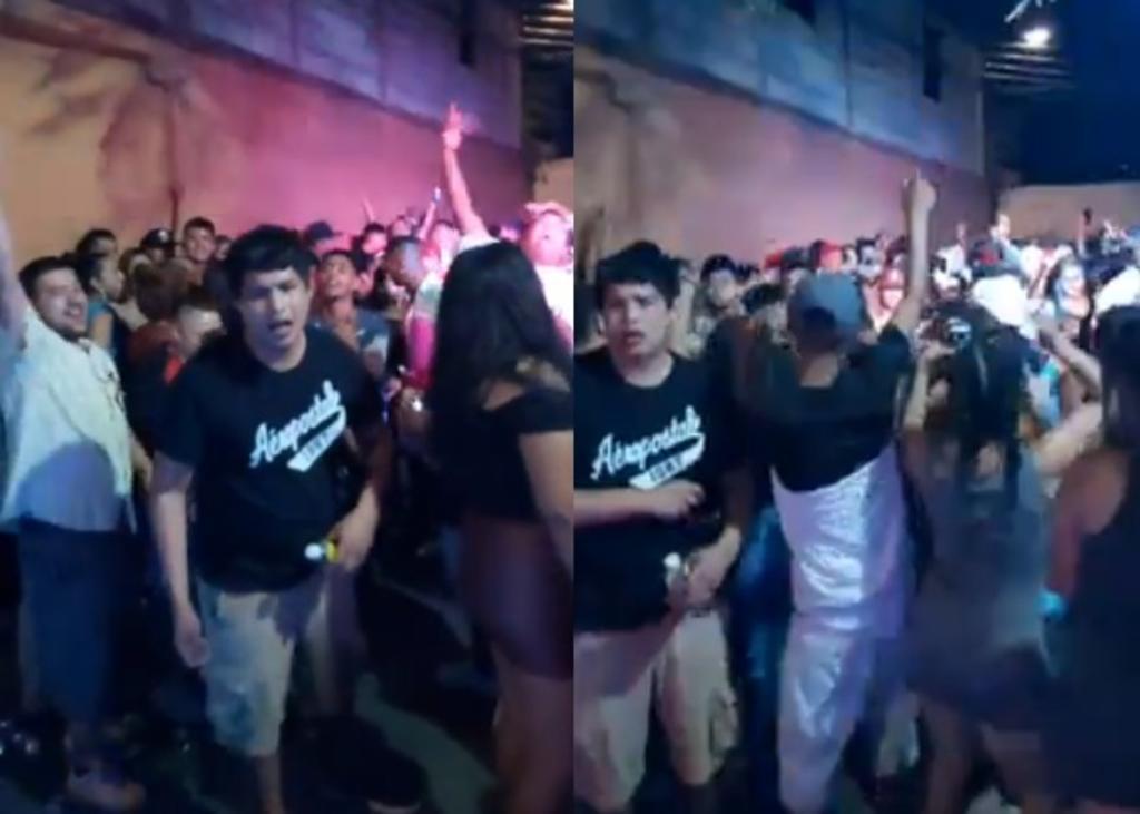 Critican celebración de baile colombiano en Nuevo León