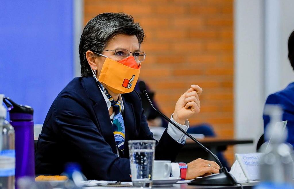 Alcaldesa de Bogotá propone un 'Plan Marshall' para reactivación de la economía