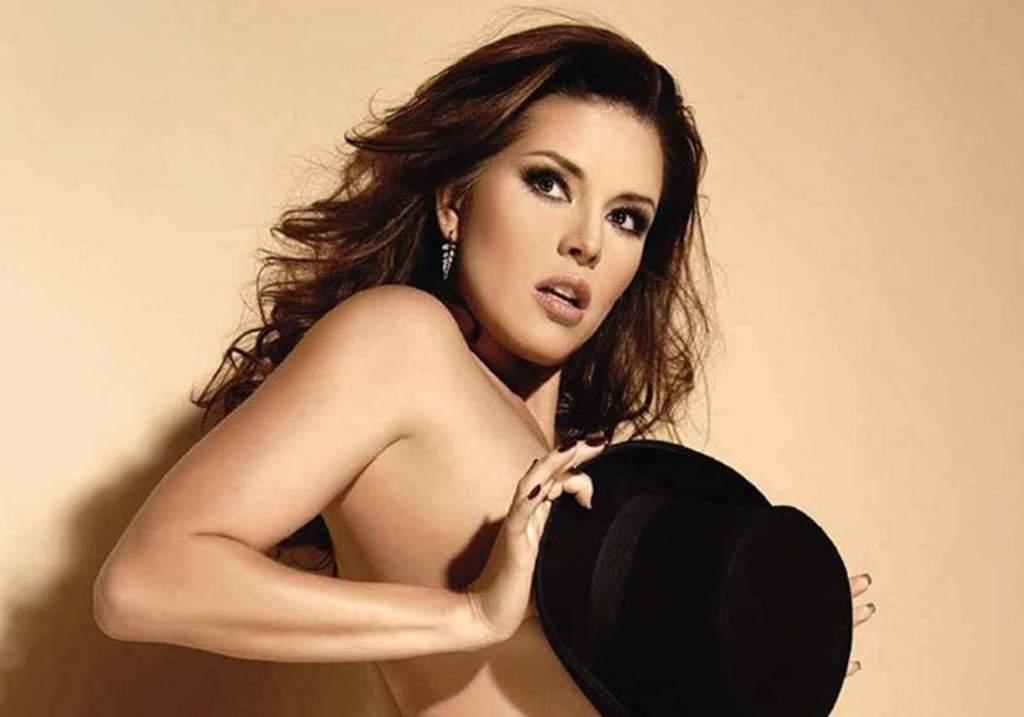 Alicia Machado volverá a enseñar piel en Playboy