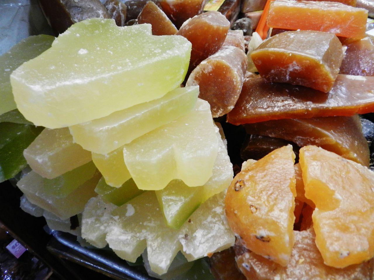 ¿Qué son las frutas cristalizadas?