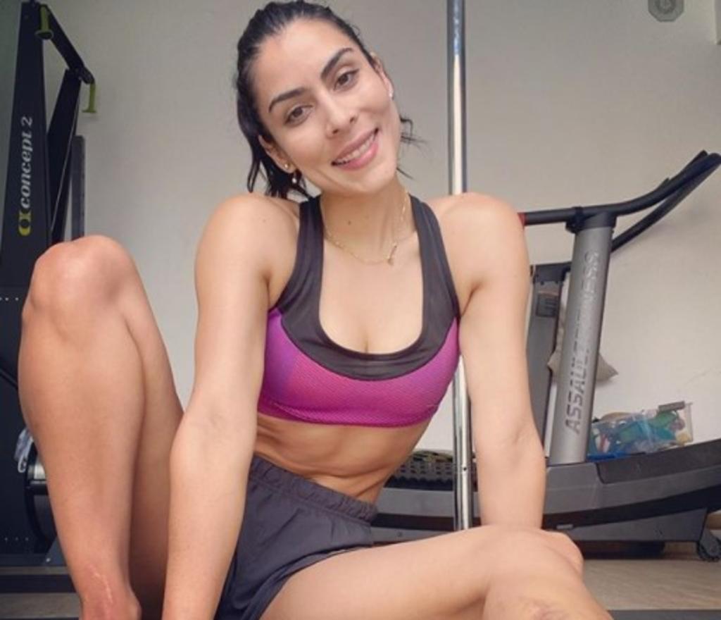María León hace 'sudar' a Instagram con su rutina de ejercicio