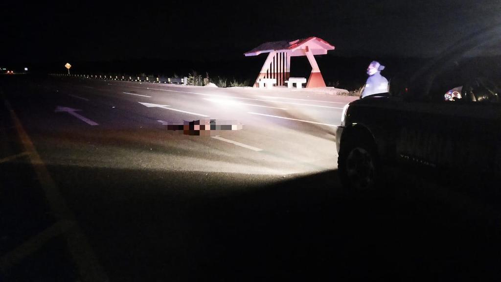 Identifican a hombre que murió arrollado frente al ejido La Loma de Lerdo
