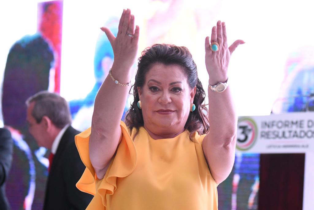 Niega Leticia Herrera acusaciones por desvío de recursos