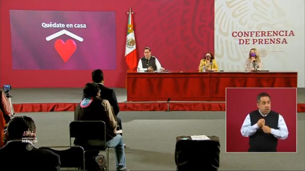 Suman 671 mil 716 casos positivos de COVID-19 en México