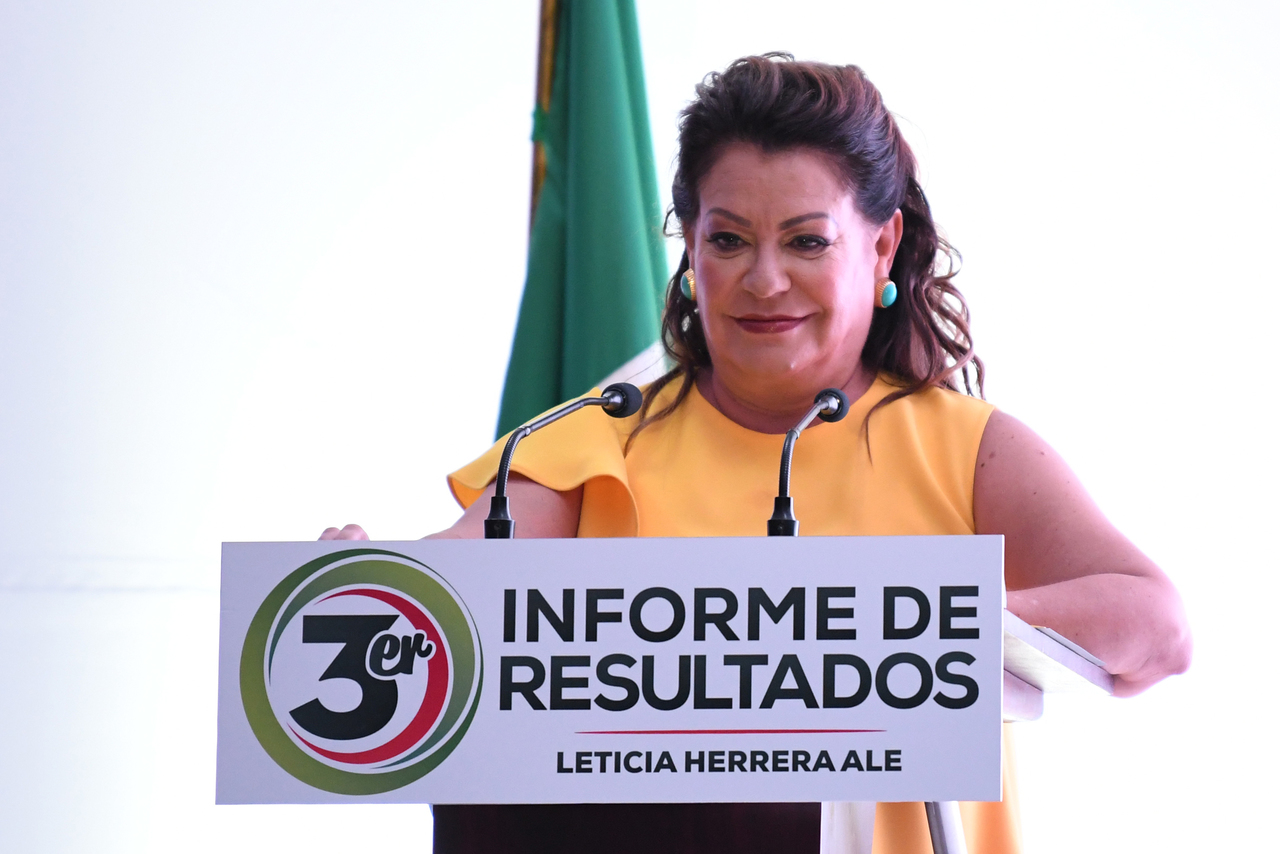 Niega Leticia Herrera el bloqueo de sus cuentas