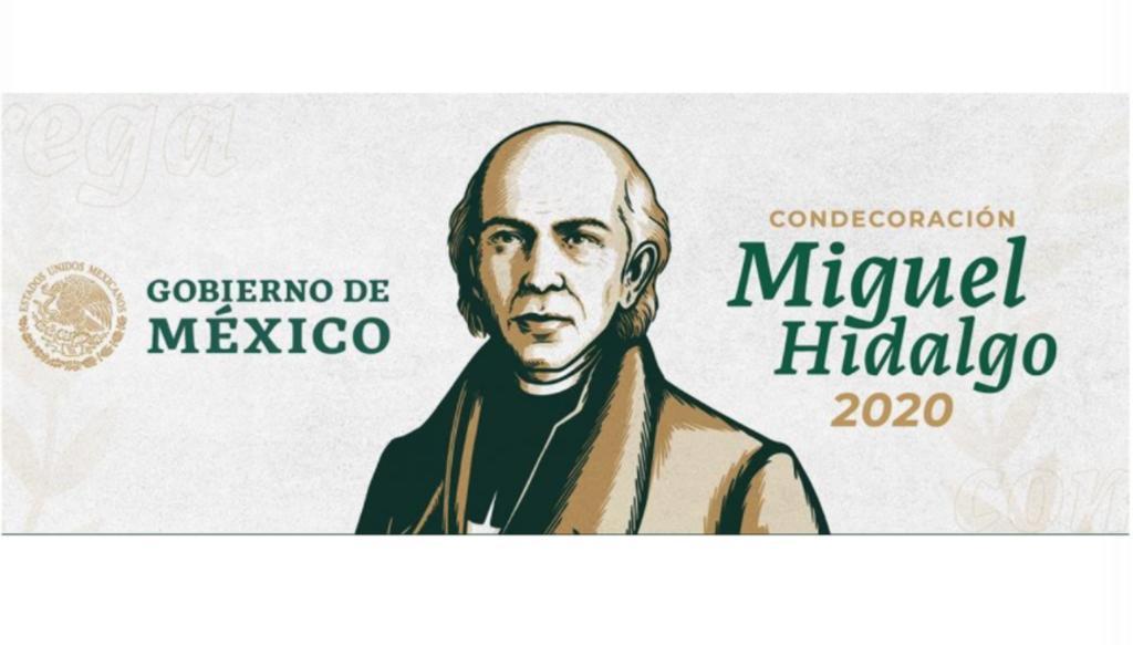 Dan a conocer a ganadores de Condecoración Miguel Hidalgo por lucha contra COVID