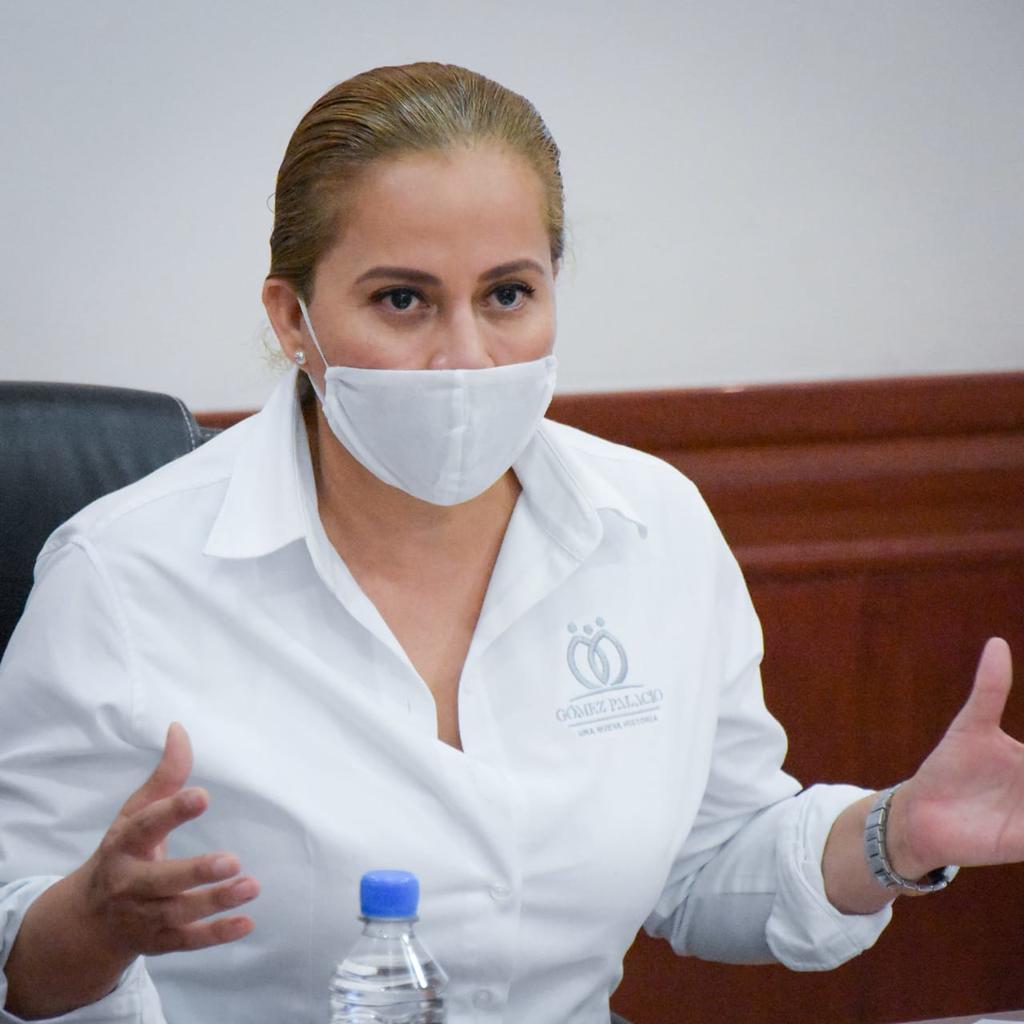 Confirma alcaldesa de Gómez Palacio congelamiento de cuentas de Leticia Herrera