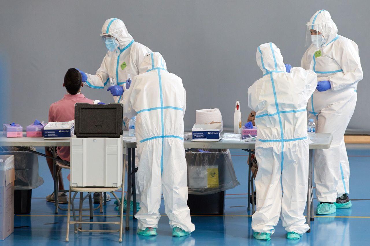 Supera España los 600 mil contagios