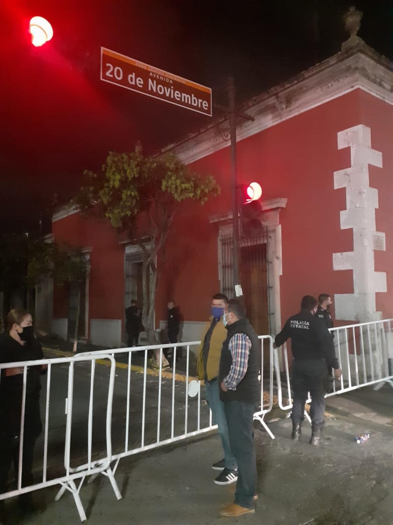 Fueron retirados seis comerciantes ambulantes, la noche del Grito
