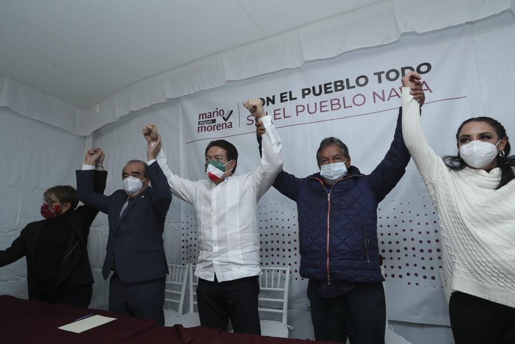 Sostiene Delgado que 'unión dará posibilidades reales de triunfo a Morena'