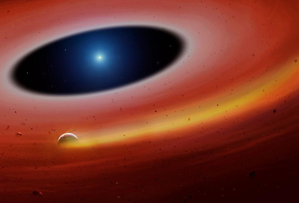 Detectan primer planeta orbitando alrededor de una estrella enana blanca