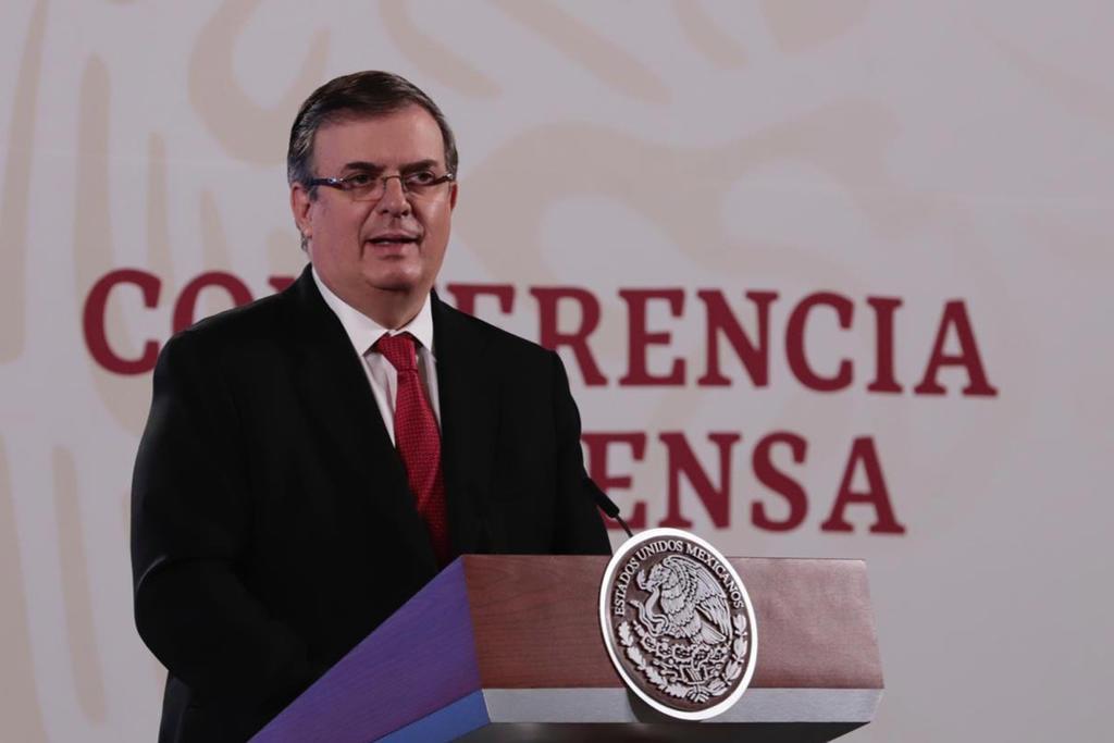 Anuncia Ebrard interés de 7 proyectos para fase 3 de vacuna en México