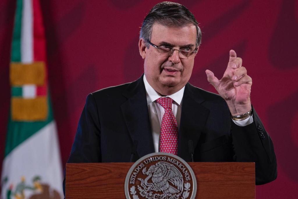 Único proceso en el que estoy, es en traer vacunas a México: Ebrard