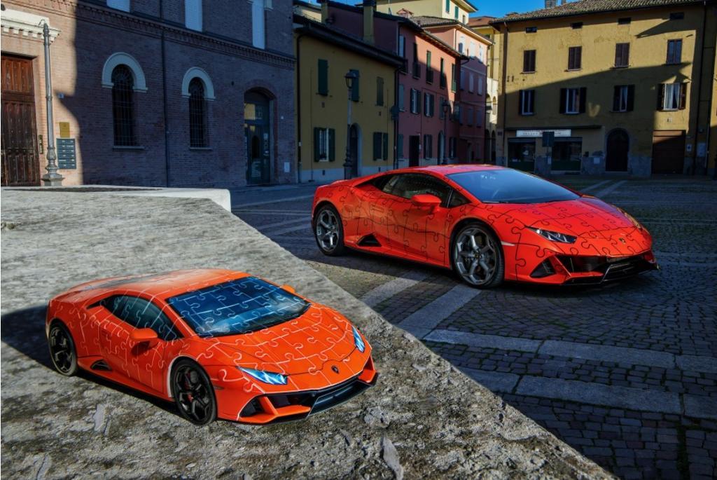 Lamborghini lanza rompecabezas 3D del Huracan Evo