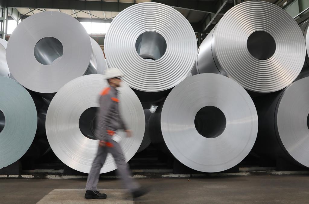 Indaga México antidumping al acero brasileño
