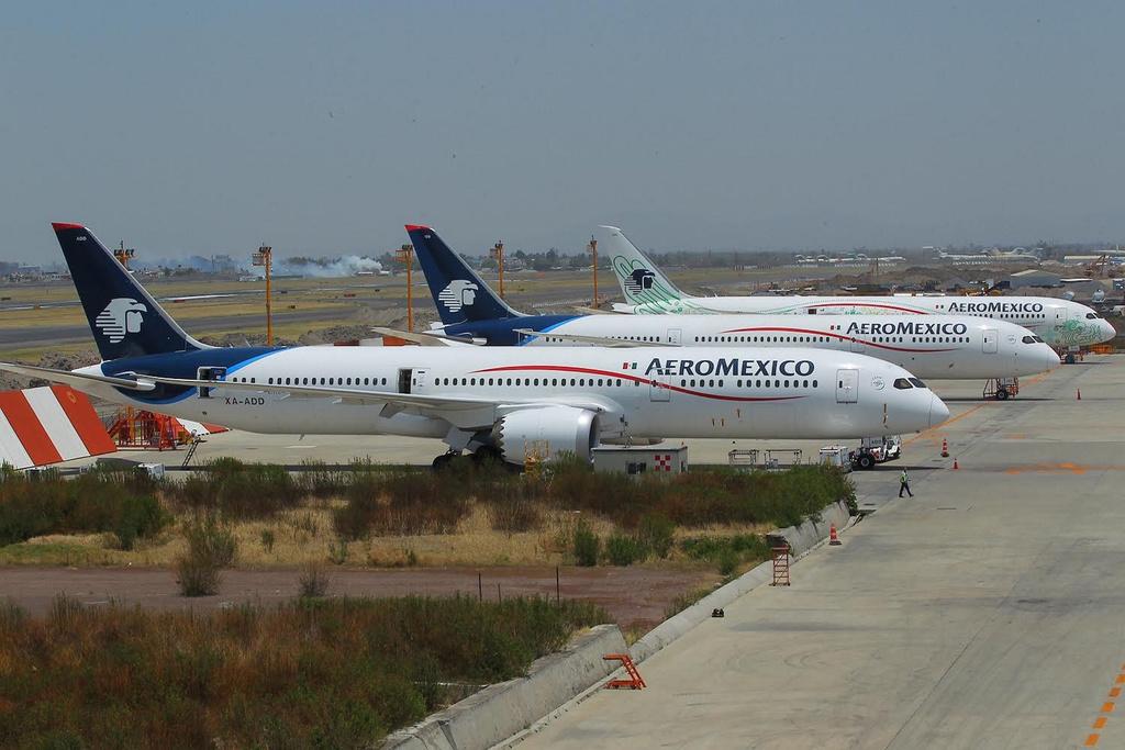 Arrendará Aeroméxico aviones por hora