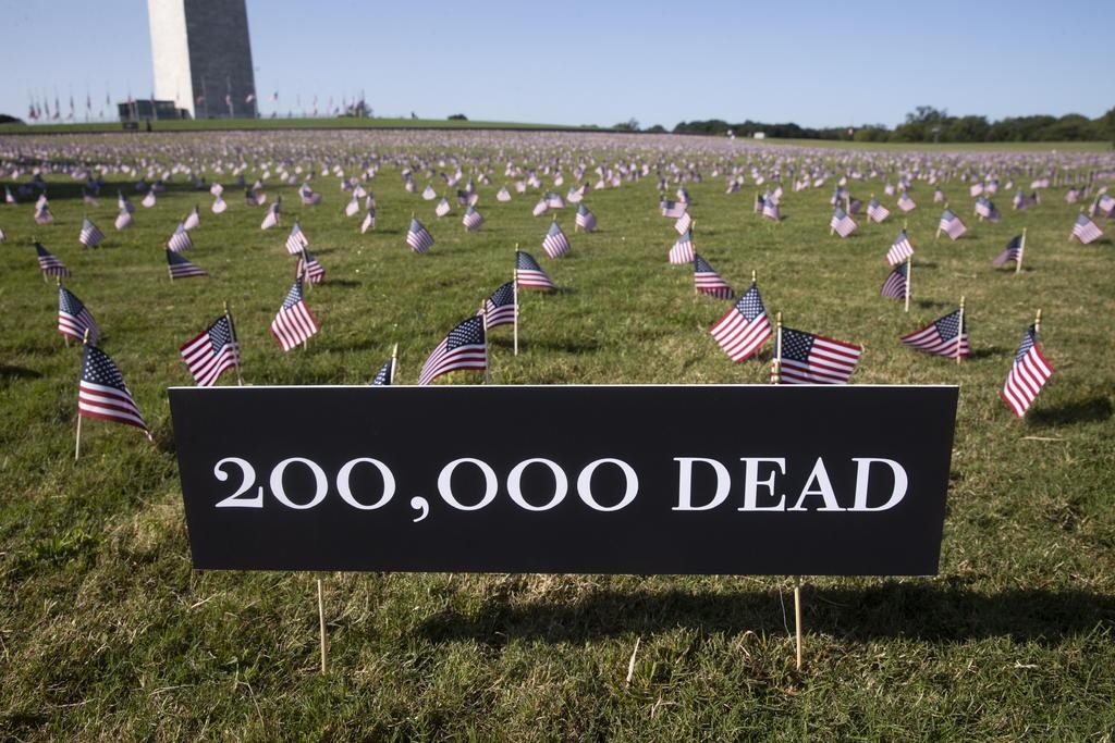 COVID-19 ha matado a más personas en EUA que las últimas cinco guerras