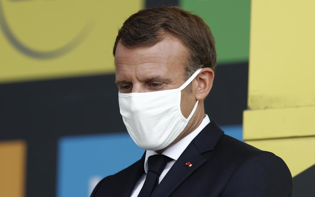 Pide Macron construir 'un nuevo orden' mundial no definido por EUA y China