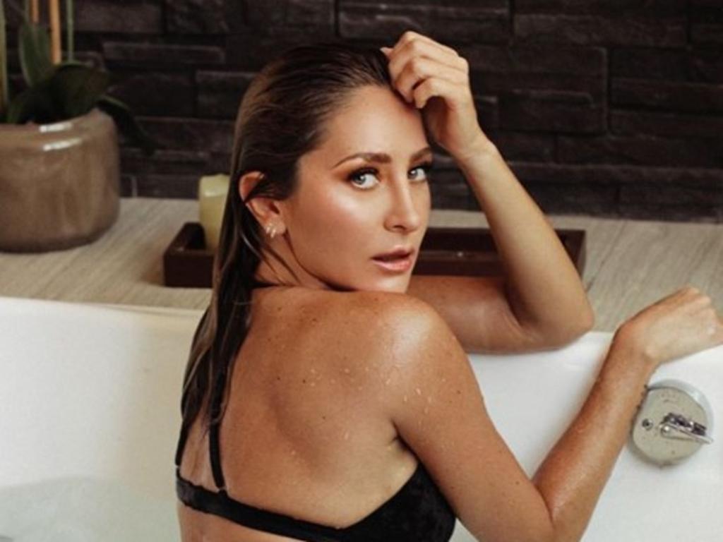 Geraldine Bazán 'arrasa' en Instagram con lencería en jacuzzi