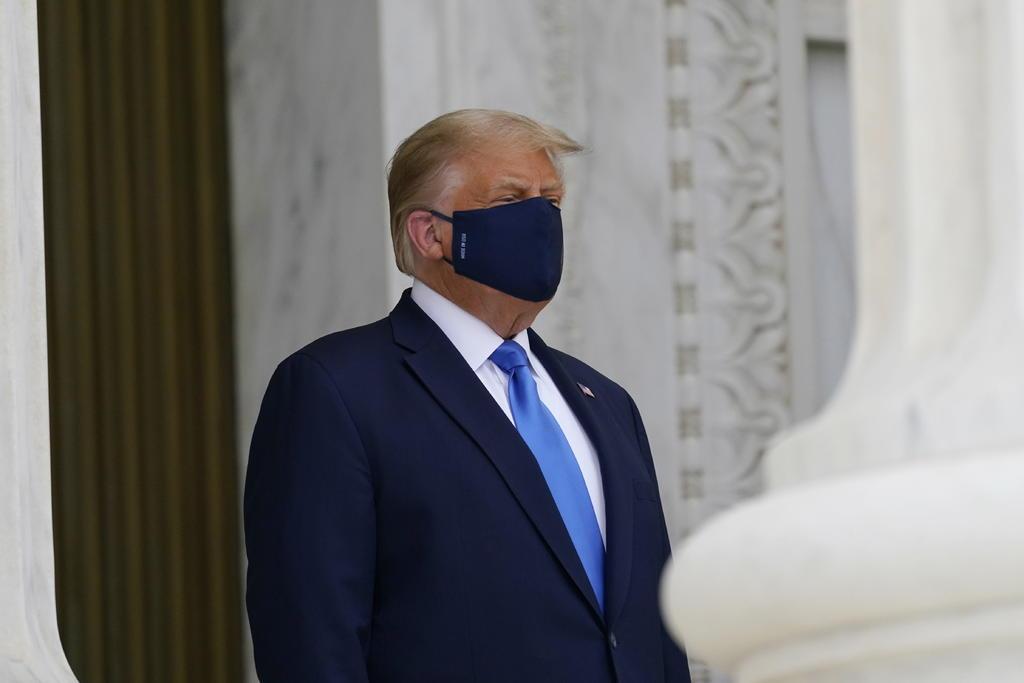 Se distancian republicanos de comentarios de Trump sobre traspaso de poder