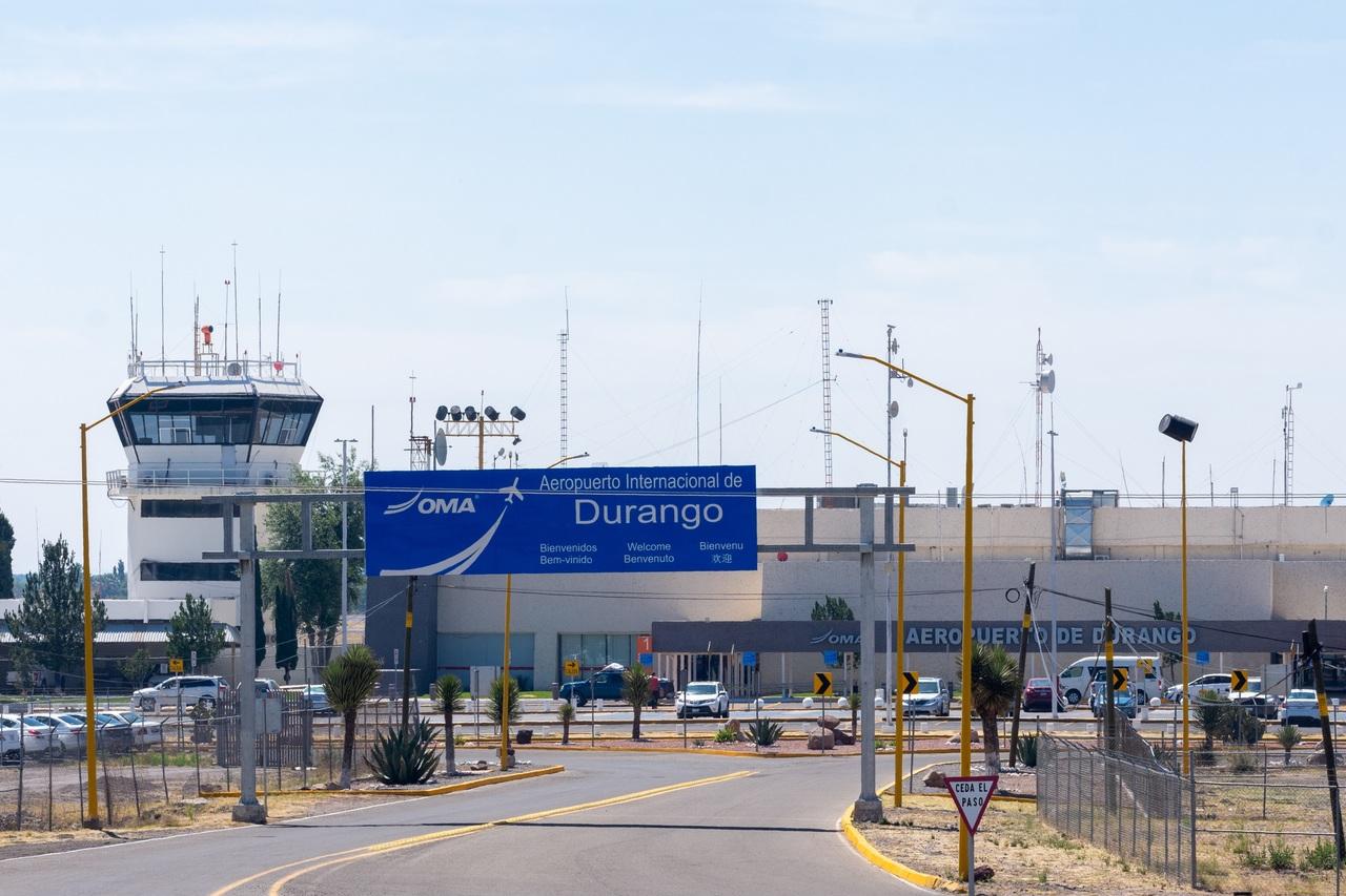 El tráfico de pasaje aéreo mejoró poco para Durango