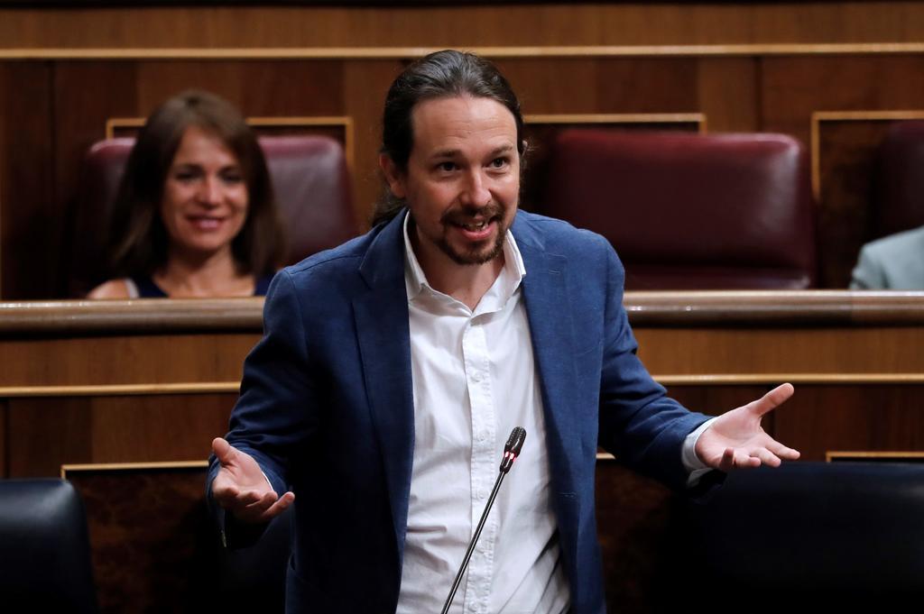 Juez pide la imputación del vicepresidente español Pablo Iglesias