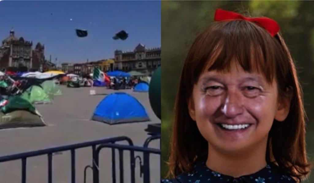 Llegan los memes de las casas de campaña de FRENAAA volando