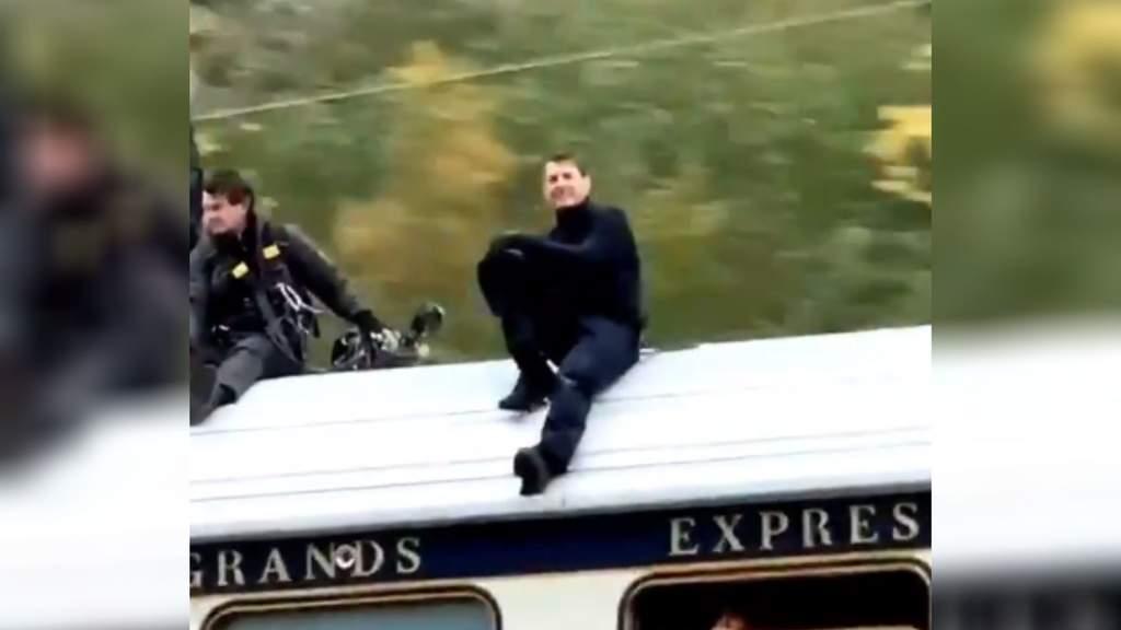Tom Cruise filma en Roma su nueva 'Misión Imposible'