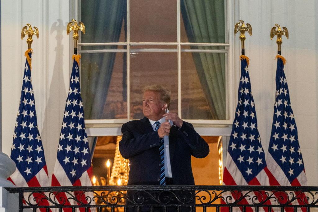¿Cómo hace campaña un presidente de EUA con COVID-19?