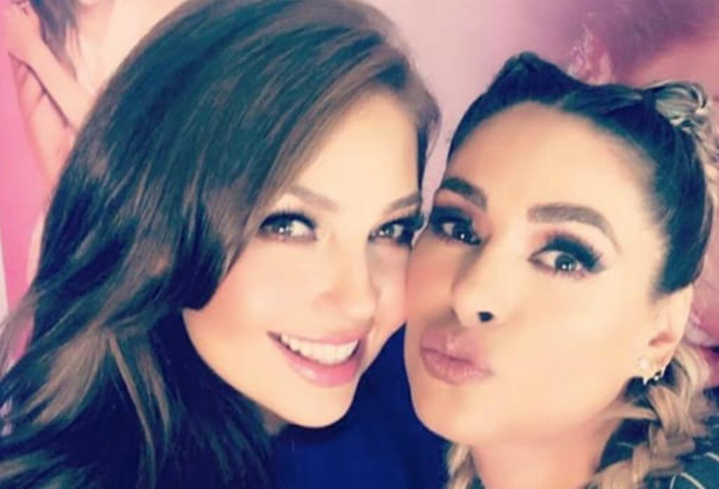 Galilea Montijo confiesa que tuvo sueño erótico con Thalía