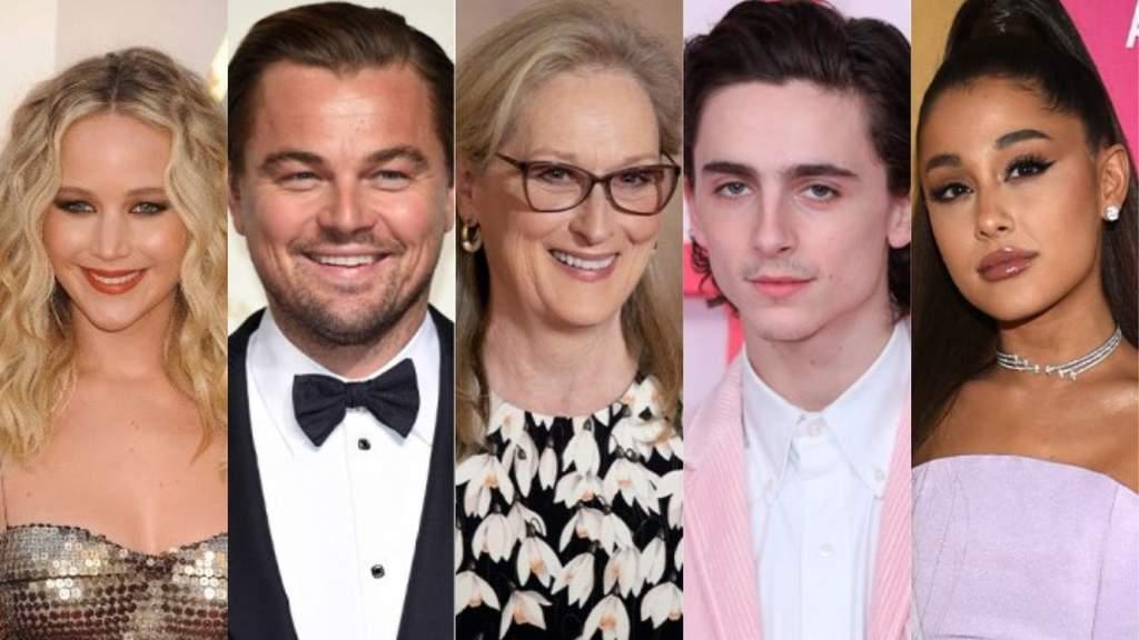 Grandes estrellas protagonizarán la película Don't Look Up