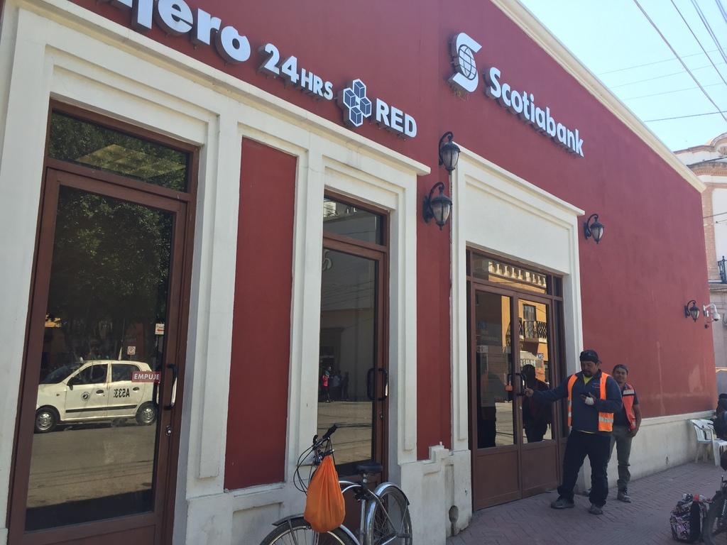 Confirman cierre del único banco en Lerdo