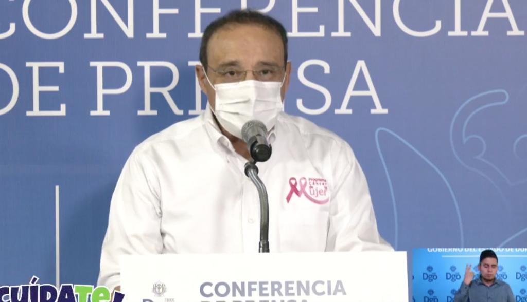 Durango suma 190 contagios y 3 muertes por COVID-19