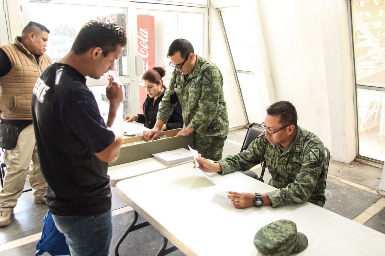 Concluyen trámites para media cartilla del Servicio Nacional Militar