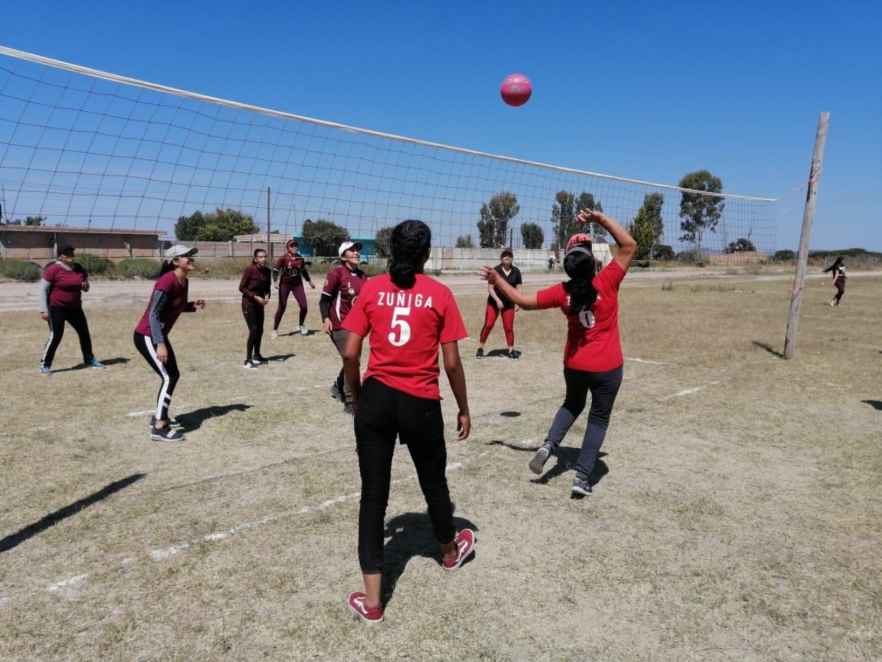 El voleibol reina en la Zona Rural de la capital duranguense
