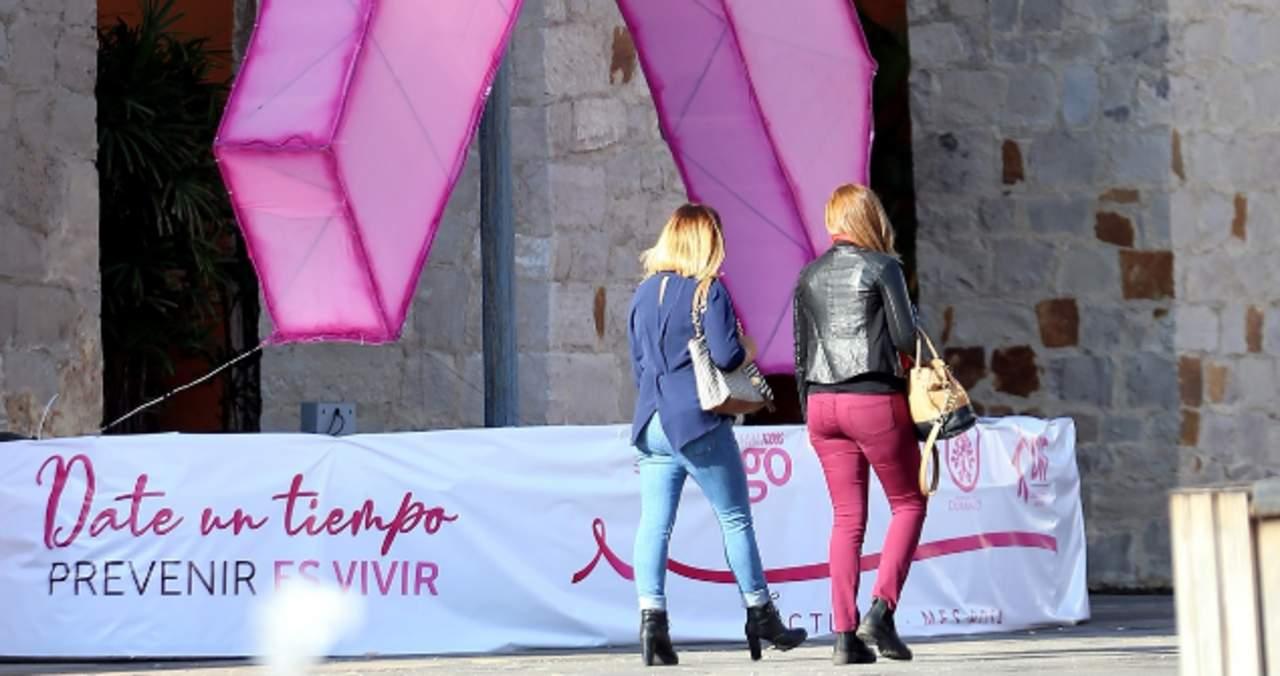 Alta sobrevivencia a cáncer de mama en Durango