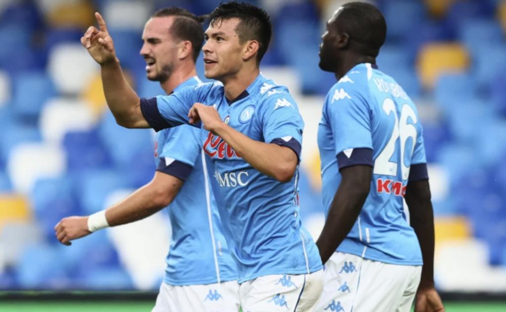 'Chucky' Lozano firma doblete en la goleada del Nápoles al Atalanta