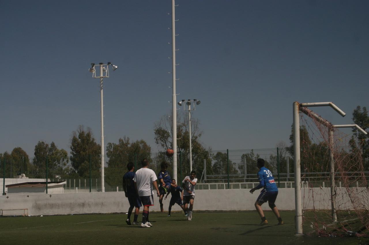 Al rojo vivo el Futbol 7 de la 450