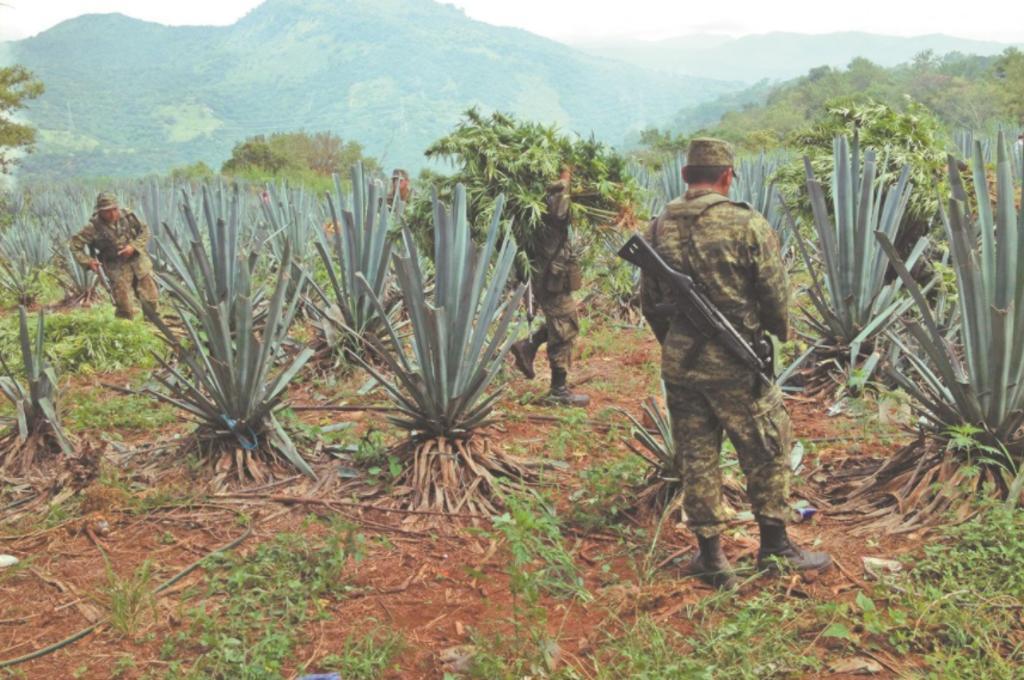Con Cienfuegos, Ejército registró pocos ataques en territorio de 'H2'