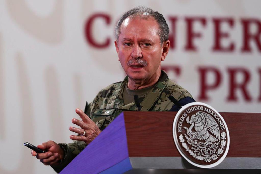 Secretario de Marina, Rafael Ojeda, da positivo a COVID-19