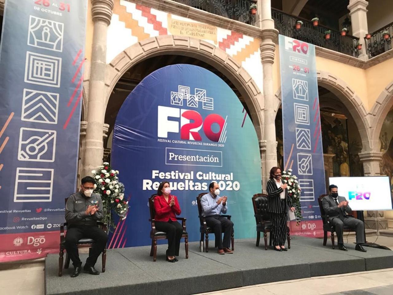 Presentan programa del Festival Revueltas 2020