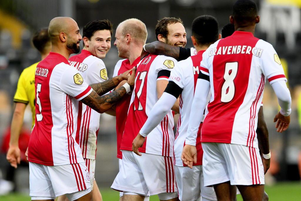Ajax hace histórica goleada de 13-0 en la Eredivisie