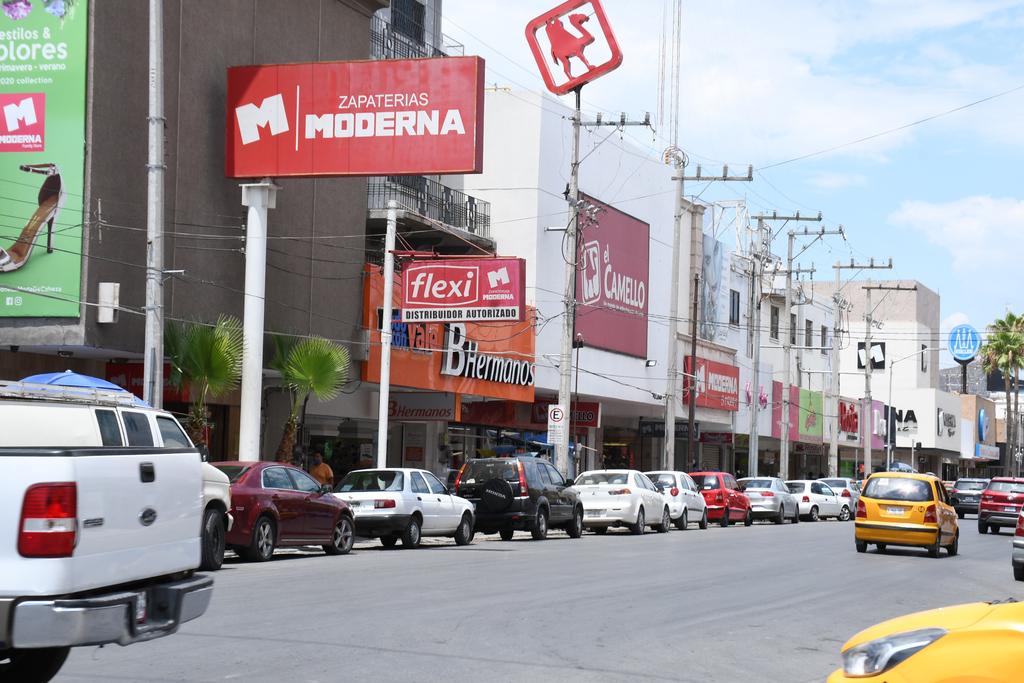 Afecta COVID-19 al comercio formal en Torreón