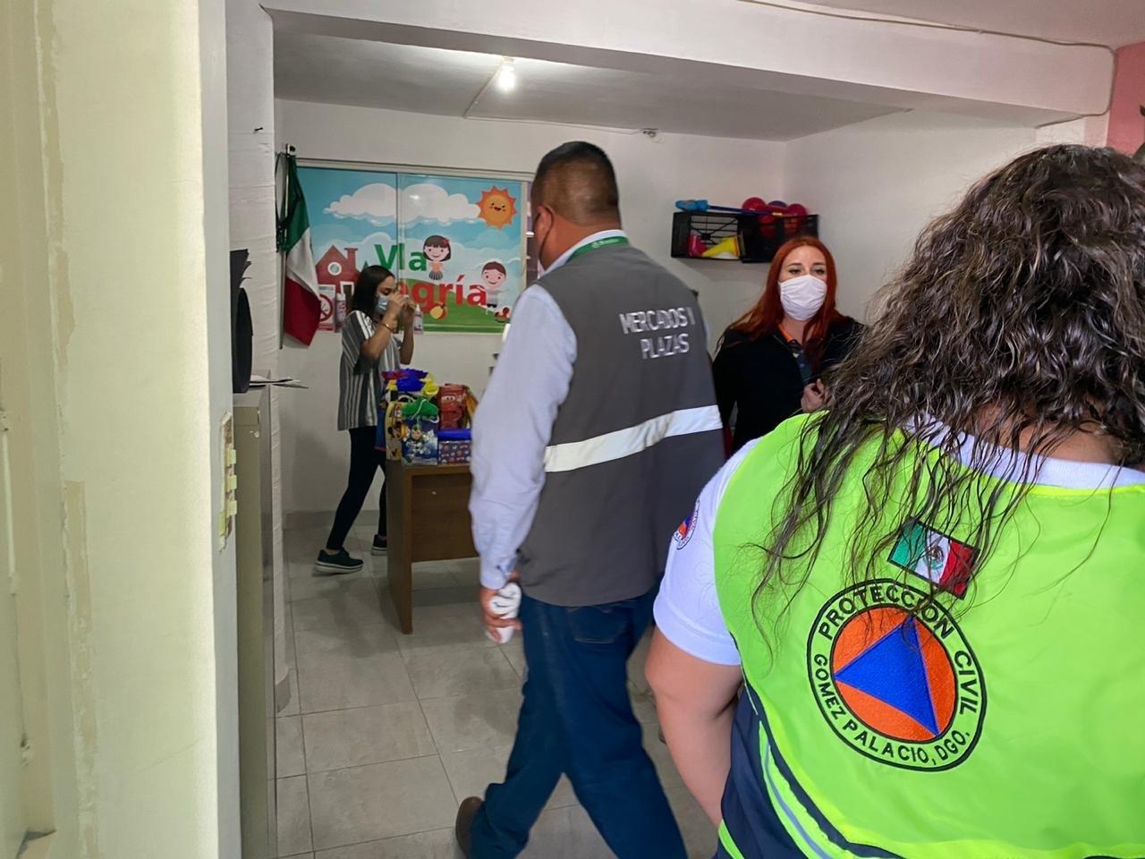 Clausuran guardería por falta de permisos en Gómez Palacio