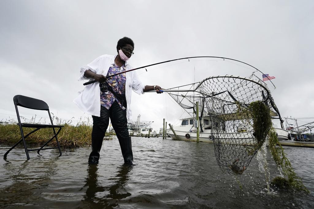'Zeta' toca tierra como categoría 2 en Luisiana